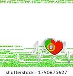 portugal patriotic background....   Shutterstock .eps vector #1790675627