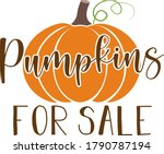 Pumpkins For Sale Quote....