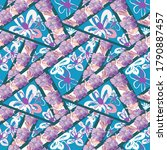 Patchwork With Tropical And...