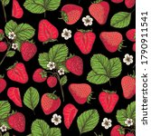 seamless pattern with... | Shutterstock .eps vector #1790911541