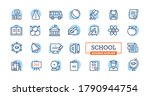 school or education modern...   Shutterstock .eps vector #1790944754