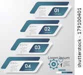 design clean number banners... | Shutterstock .eps vector #179100401