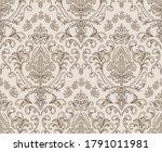 damask seamless pattern element.... | Shutterstock .eps vector #1791011981