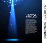 dark spotlight background for...   Shutterstock .eps vector #179101247