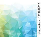 colorful polygonal mosaic...   Shutterstock .eps vector #1791018557