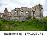 The Ruins Of The Palace Von Der ...