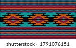 seamless ethnic ornament for... | Shutterstock .eps vector #1791076151