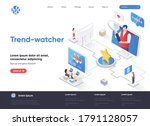 trend watcher isometric landing ...