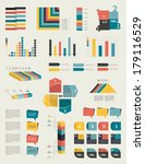 set of infographic elements.... | Shutterstock .eps vector #179116529