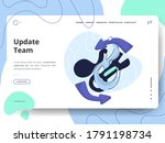 update team illustration the...