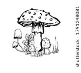 Drawing With A Mushroom....