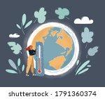 cartoon vector illustration of... | Shutterstock .eps vector #1791360374