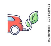 zero tailpipe emissions rgb...   Shutterstock .eps vector #1791439631