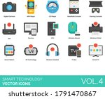 Smart Technology Icons...