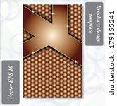 modern design of a brochure... | Shutterstock .eps vector #179155241