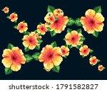 flowers vector illustration.... | Shutterstock .eps vector #1791582827