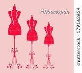 vector vintage tailor's... | Shutterstock .eps vector #179162624