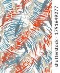 animal print  leopard texture... | Shutterstock . vector #1791649277