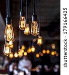 beautiful lighting decoration | Shutterstock . vector #179166425