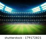 stadium | Shutterstock . vector #179172821