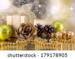 christmas decorations | Shutterstock . vector #179178905