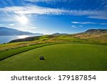 A Beautiful Golf Course Tee Box ...