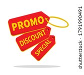 special sales label  promotion  ... | Shutterstock .eps vector #1791990491