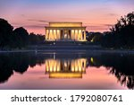 Lincoln Memorial And Reflecting ...