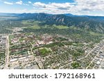 Aerial Photo of Boulder, Colorado