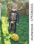Halloween Skeleton Child. Chil...