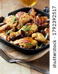 Grilled Chicken Pieces With...