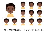 Set Of African American Boy...