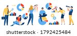 investing. business vector... | Shutterstock .eps vector #1792425484