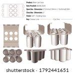beer can box packaging design...   Shutterstock .eps vector #1792441651