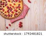 Sweet Tasty Pie With Jellied...
