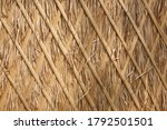 Traditional Thatch Wall Roof...