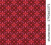 decorative scandinavian modern... | Shutterstock .eps vector #1792661371