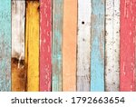 Texture Of Vintage Wood Boards...