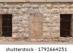 Lattice Windows On An Old Ston...