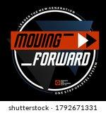 moving forward modern and... | Shutterstock .eps vector #1792671331