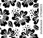 hibiscus seamless pattern | Shutterstock .eps vector #179268221