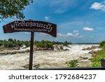 Khon Phapheng Falls At...