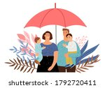 care of your family. people... | Shutterstock .eps vector #1792720411