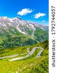 grossglockner high alpine road  ... | Shutterstock . vector #1792744057