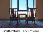 Rustic Rocking Chairs...