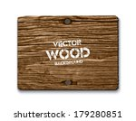 Vector Old Dry Brown Wood...