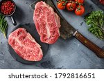 Raw Top Blade Oyster Steak On...
