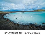 the famous blue lagoon... | Shutterstock . vector #179284631