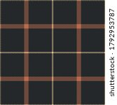 brown plaid pattern.... | Shutterstock .eps vector #1792953787