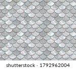 Vector Seamless Mermaid Pattern ...